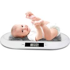 Deuba Baby Digital Waage mit LED Anzeige max. 20kg - Weiß