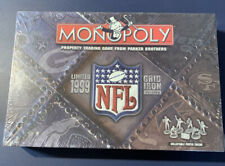 MONOPOLY NFL LIMITED 1999 GRID IRON EDITION BOARD GAME NEW, PARTS SEALED, MINT
