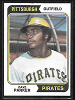 ⚡ 1974 Topps Dave Parker RC  #252    Pittsburgh Pirates