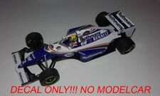 decal Williams FW16 Tobacco Pacific GP 1994 Senna Hill 1/43 minichamps
