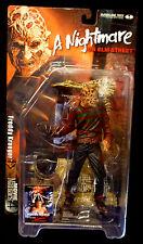 Freddy Krueger Movie Maniacs Series 4  Action Figure New McFarlane Toys 2001