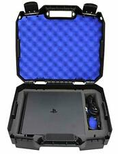 Casematix Bag Case Fits Playstation 4 Slim 1tb Console and Accessories PS4 Slim
