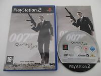 007 QUANTUM OF SOLACE - SONY PLAYSTATION 2 - Jeu PS2 PAL Fr COMPLET