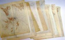 Early Arizona Topo Maps Lot 1432