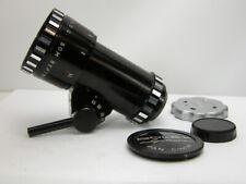 Beautiful Compact SOM BERTHIOT 17-85MM C-MOUNT ZOOM LENS For Bolex BMPCC M4/3rds