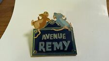 (Emile) Avenue Remy only Ratatouille 4 pins set Disney Paris Dlrp Dlp 2008 Pin