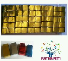 50 block bag Metallic Flutter Fetti slow fall Confetti party celebration