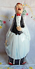 "Fat Waiter Figure, Oil & Vinegar Bottle (9-1/2"") Decorative Kitchen Figure"