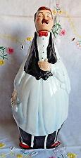 "Fat Waiter Figure, Oil & Vinegar Bottle (9-1/2"") Decorative Kitchen Figure"