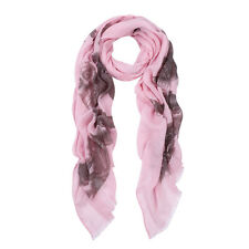 Premium Elegant Night Owl Frayed End Scarf Wrap - Diff Colors Available