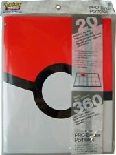 UltraPro Cards Pokemon Premium Pro Binder - White/Red