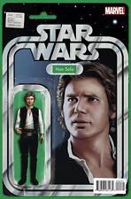 Marvel Comics Star Wars #2 Han Solo Action Figure Variant NM 2015 Force Awakens