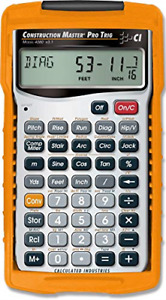 Calculated Industries 4080 Construction Master Pro Trig Calculator