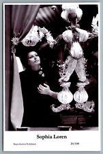 Sophia Loren (C) Swiftsure Postcard year 2000 modern print 20/188 glamour photo