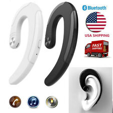 Ear-hook Bluetooth Earbud Non in-ear Headset for Cell Phones Working Business