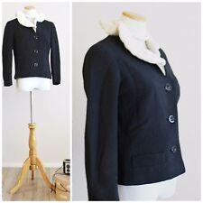 VTG 50s Mink Fur Knit Coat Jacket Jablow Original Beverly Hills LA California NR