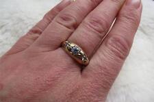 Cubic Zirconia Ring Vintage Fine Jewellery (1980s)