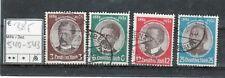 Deutsches Reich Germania Mi. Nr. 540 - 543  gestempelt