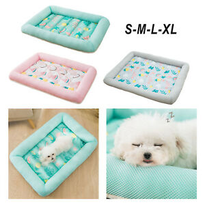 Dog Cooling Mat Bed Sleeping Pad Washable Sofa Car Seat Cats Cool Blanket