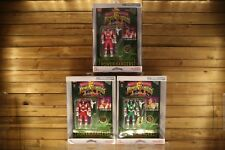 Mighty Morphin Power Rangers Legacy AUTO MORPH TRIO: RED, GREEN, & PINK Saban