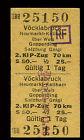 Fahrkarte Vöcklabruck-Neumarkt Kallham-über Wels-Gopperding    25/1/14