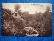 CHATELUS MALVALEIX  :  Paysage dans la Vallée de Coudane.