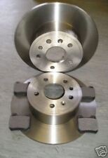 SAAB 9-3 REAR BRAKE DISCS AND PADS 2.0,2.2,2.3 ('98-02) NEXT DAY DELIVERY