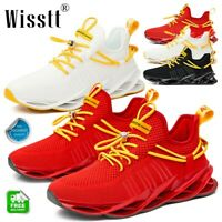 Men's Sports Sneakers Shoes Athletic Outdoor Blade Running Breathable Sneakers