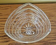 ELEGANT Heavy Hand Crafted 24% Full Lead Crystal Bowl Made in Poland/ EASTER