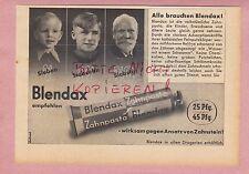 MAINZ, Werbung 1942, Blendax Zahn-Pasta Zahnpaste