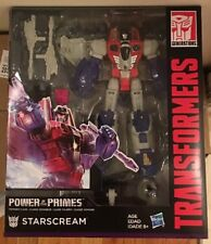 TRANSFORMERS GENERATIONS POWER OF THE PRIMES VOYAGER CLASS STARSCREAM G1 Seeker