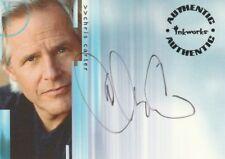 X-FILES SEASON 4&5 CHRIS CARTER a1 AUTOGRAPH CARD INKWORKS 2001
