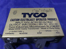 Tyco Model 899B Hobby Transformer Railroad Train Power Pack. HO Scale