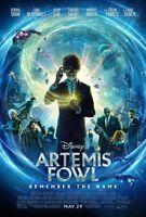 "Artemis Fowl movie poster (a)  - 11"" x 17"""