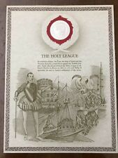 GREAT HISTORIC SEALS MEDAL STERLING SILVER THE HOLY LEAGUE (3341083)