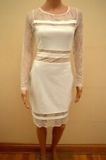BNWT Lipsy Loves Michelle Keegan Lace Panelled Bodycon Shift Dress UK12 RRP £65