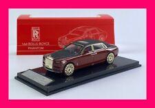 JAN 2021 RR Rolls Royce Phantom VIII 8 1/64 Smallcarart 8.3cm long red+black top