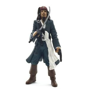 Disney Store Pirates of the Caribbean Jack Sparrow Action Figure Toy Vintage