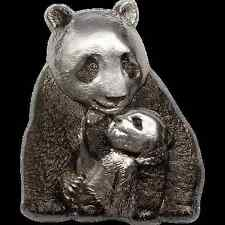 20 $ 2017 Cook Island - Silver Lucky Panda / Riesenpanda