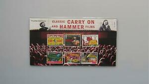 2008 G.B Presentation Pack - Classic Carry On And Hammer Films - Pack 414