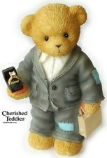 CHERISHED TEDDIES OLIVER FIGURINE, UK / H. SAMUEL EXCLUSIVE, 118663, RING, NIB
