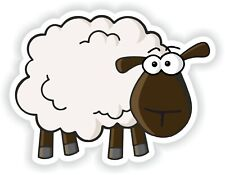 Sheep Funny Sticker for Bumper Truck Laptop Baggage Suitcase