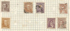 ARGENTINA -  lot of 7 STAMPS