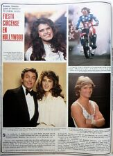 BROOKE SHIELDS => 2 pages 1981 Spanish CLIPPING !!! COUPURE DE PRESSE