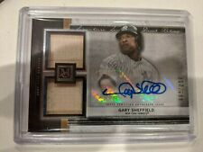 2020 Museum Collection Signature Swatches Relic Auto Gary Sheffield 217/299