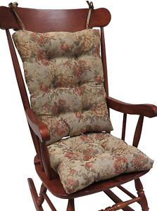 The Gripper Non-Slip Somerset Tapestry Jumbo Rocking Chair Cushions