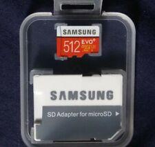512 GB Micro SD Card Samsung Evo Plus class 10