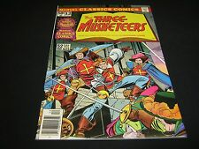 Marvel Classics Comics #12 THE THREE MUSKETEERS  (1976, Marvel)  VF/NM