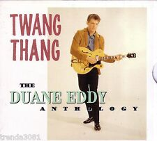 DUANE EDDY Anthology Twang Thang Rhino 2CD Classic 50s 60s Rock REBEL ROUSER