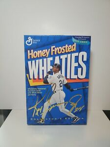 Ken Griffey Jr. Honey Frosted Wheaties - Unopened Box with Cereal
